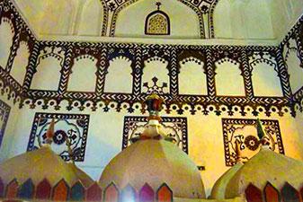 معماری آرامگاه سید غلام رسول چابهار
