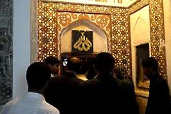 زیبایی بقعه سید غلام رسول چابهار