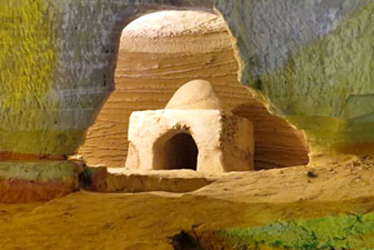 غارهای تیس چابهار