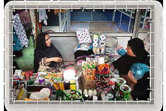 دکه بازار زنان چابهار