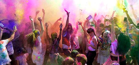 جشن رنگها هند