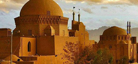 سفر به یزد شهر تقارن ها
