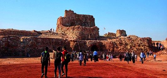 قلعه هرمز پرتغالیها