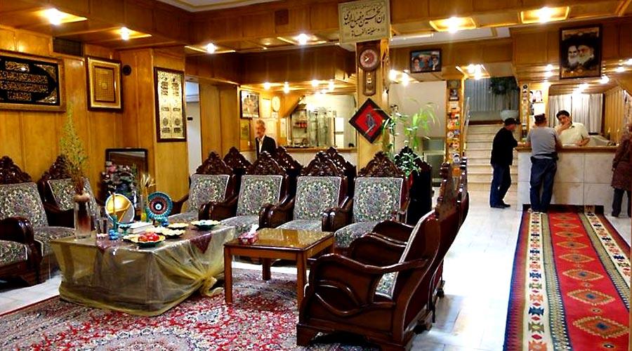 لابی هتل اخوان کرمان