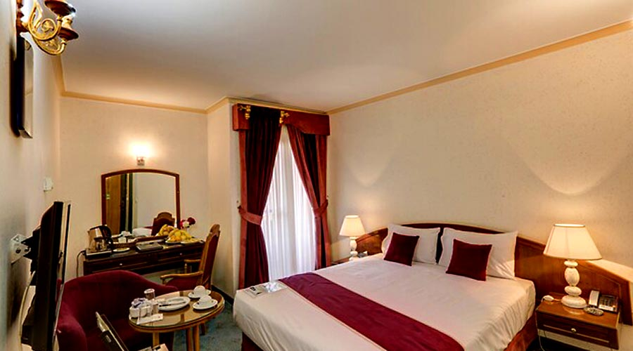 اتاق 1 هتل جهانگردی کرمان