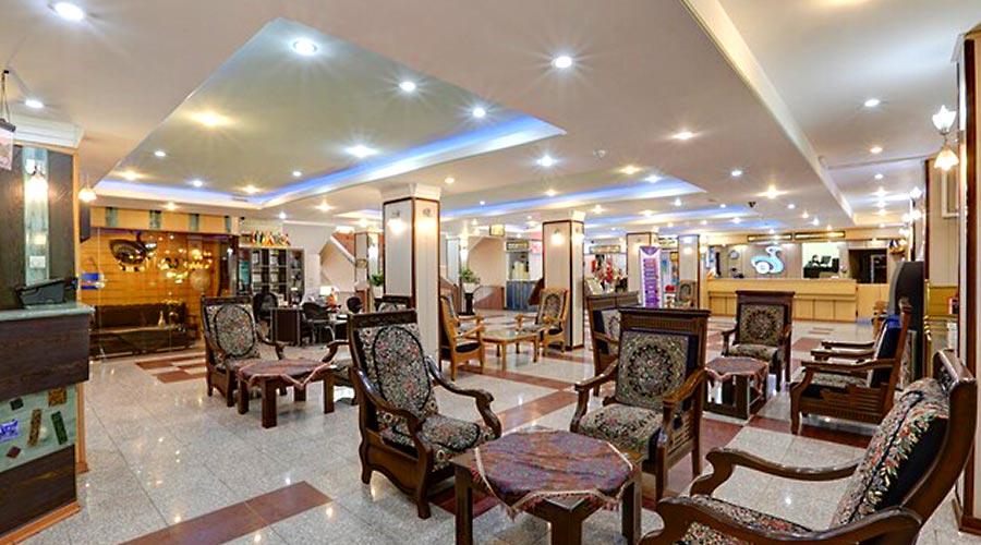 لابی هتل جهانگردی کرمان