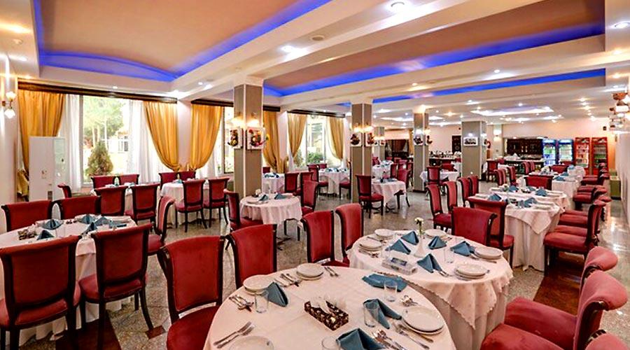 رستوران 2 هتل جهانگردی کرمان