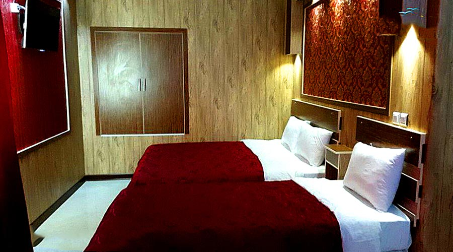 اتاق 2 هتل پانیذ کیش