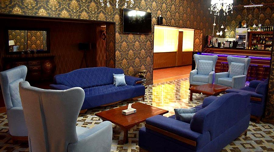 لابی هتل شاهان چابهار