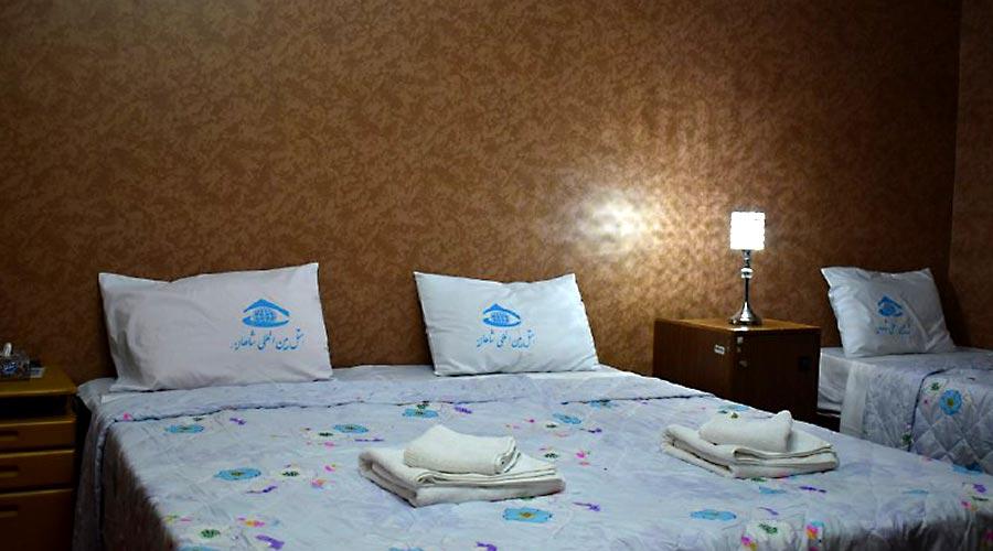اتاق 6 هتل شاهان چابهار