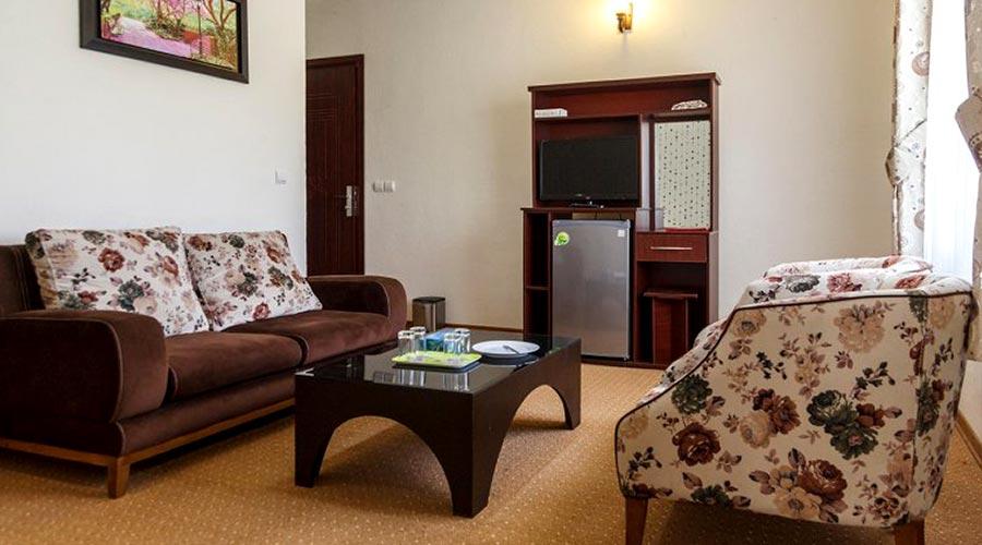 اتاق 6 هتل آرامش کیش
