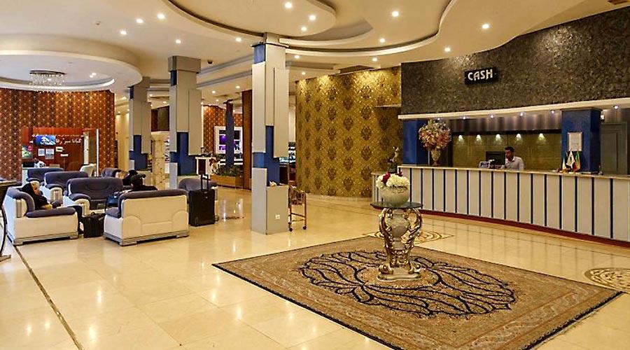 پذیرش هتل آرامیس کیش