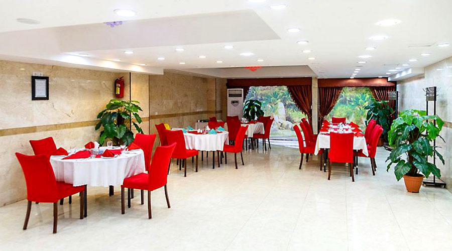 رستوران 1 هتل بهبود تبریز