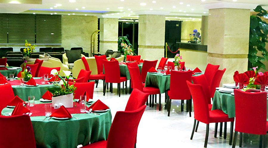 رستوران 2 هتل بهبود تبریز