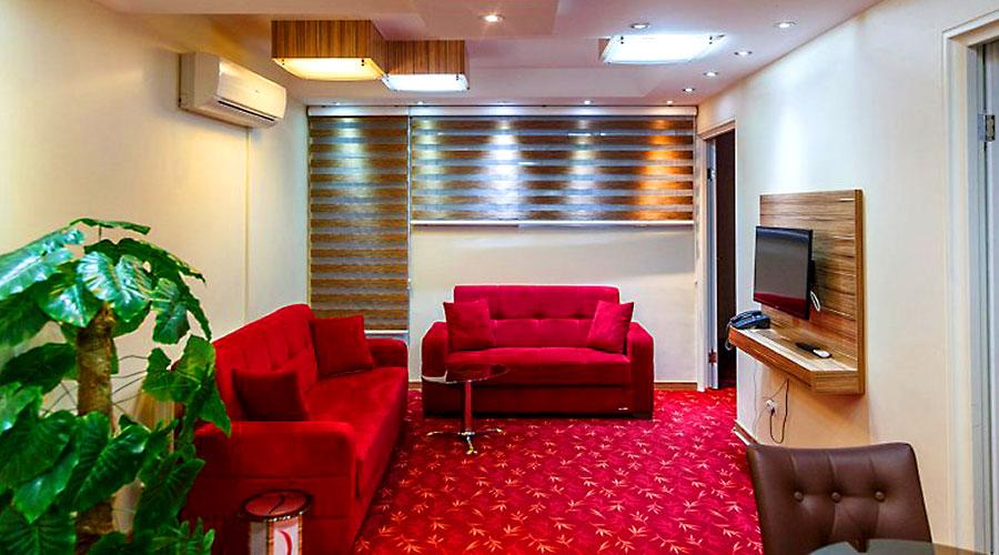 اتاق 2 هتل بهبود تبریز