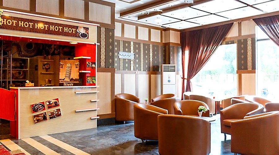 کافی شاپ هتل بهشت قشم