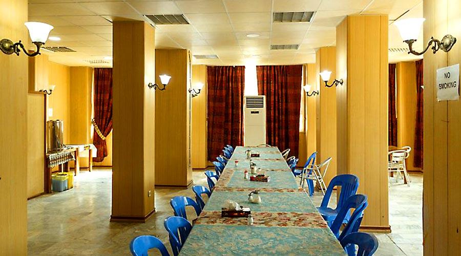 رستوران هتل دیپلمات قشم