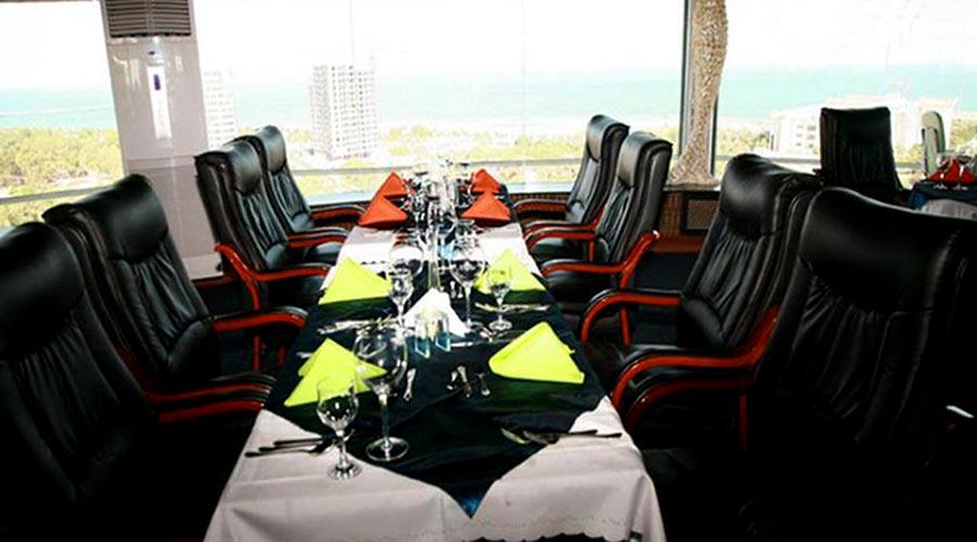 رستوران 3 هتل ارم کیش