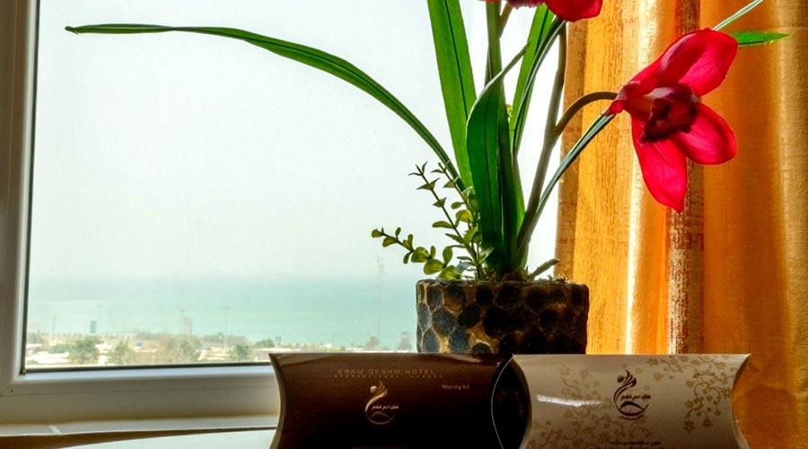 دید دریا هتل ارم قشم