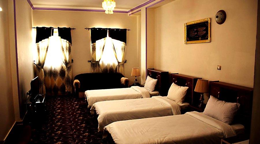 اتاق 1 هتل فردوس چابهار