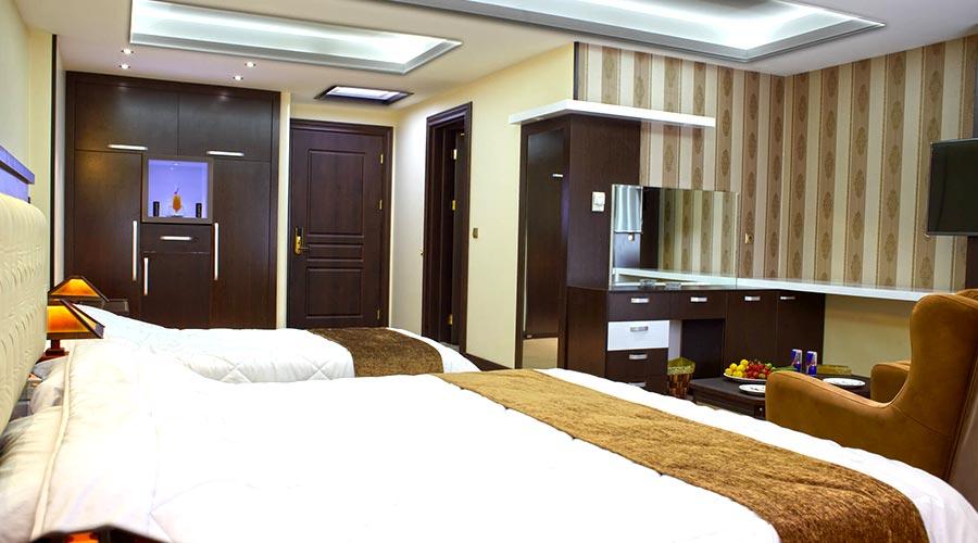 اتاق 2 هتل گسترش تبریز