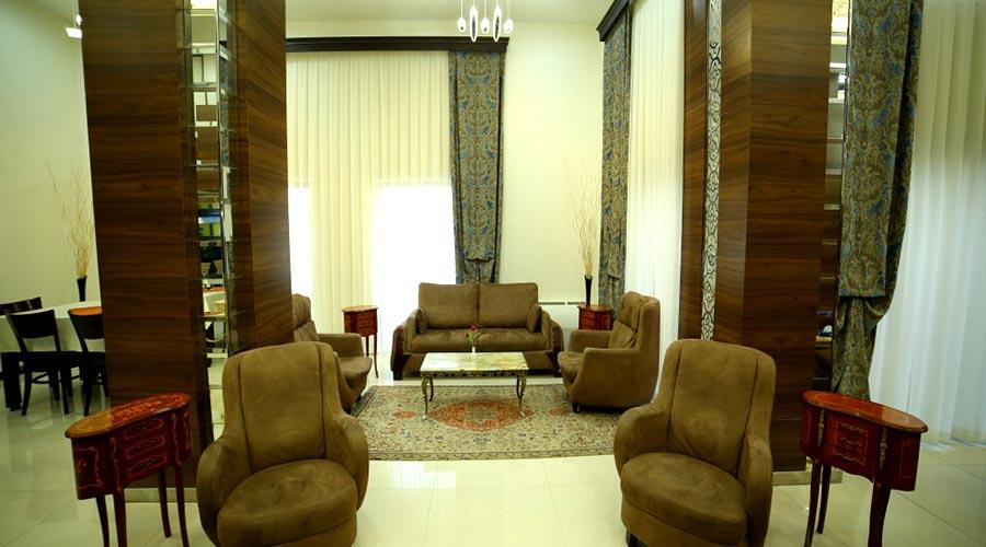 لابی 2 هتل بین المللی تبریز