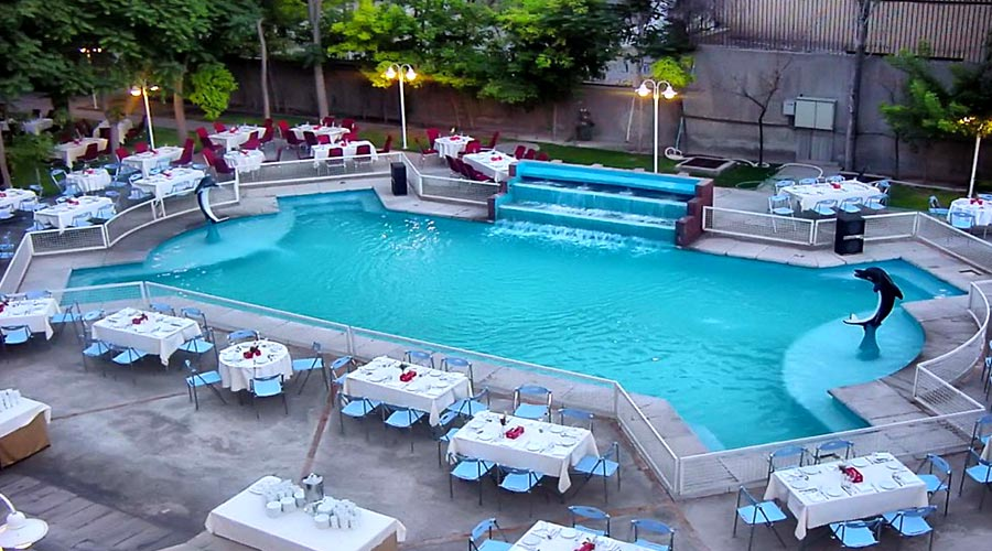 استخر هتل بین المللی تبریز