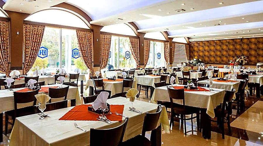 رستوران 1 هتل بین المللی تبریز