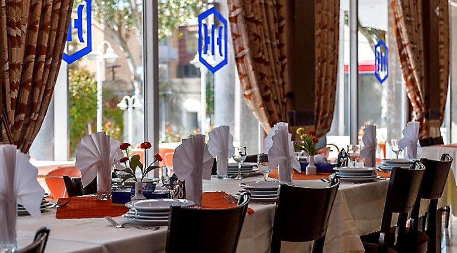 رستوران 2 هتل بین المللی تبریز