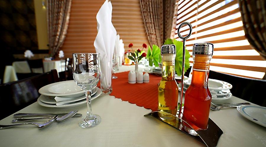 رستوران 4 هتل بین المللی تبریز
