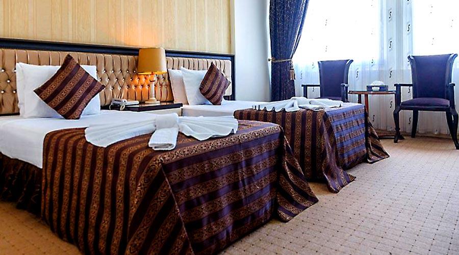 اتاق 2 هتل بین المللی تبریز