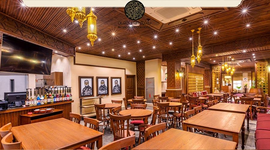 رستوران 2 هتل ایرمان قشم