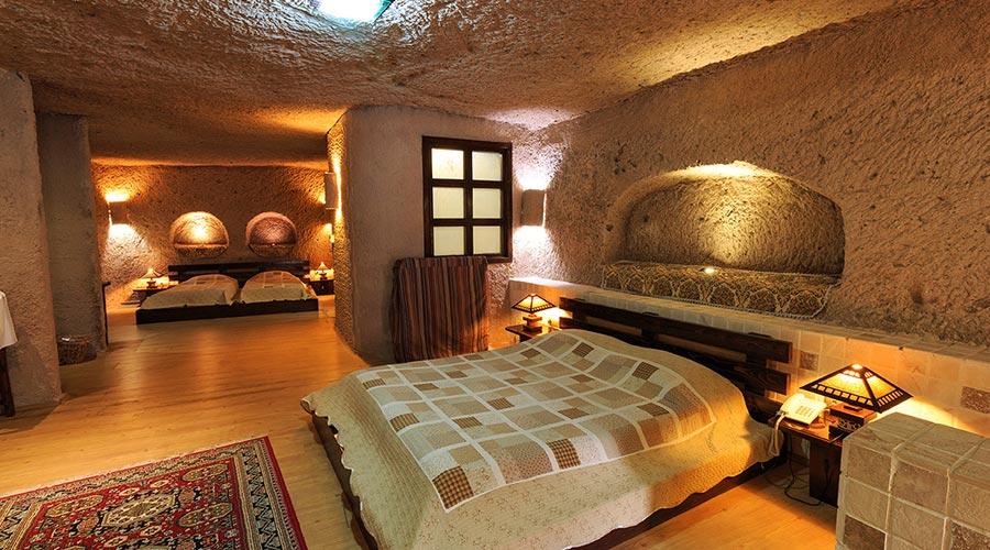 اتاق 1 هتل صخره ای لاله کندوان