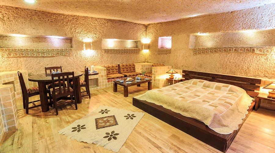 اتاق 2 هتل صخره ای لاله کندوان