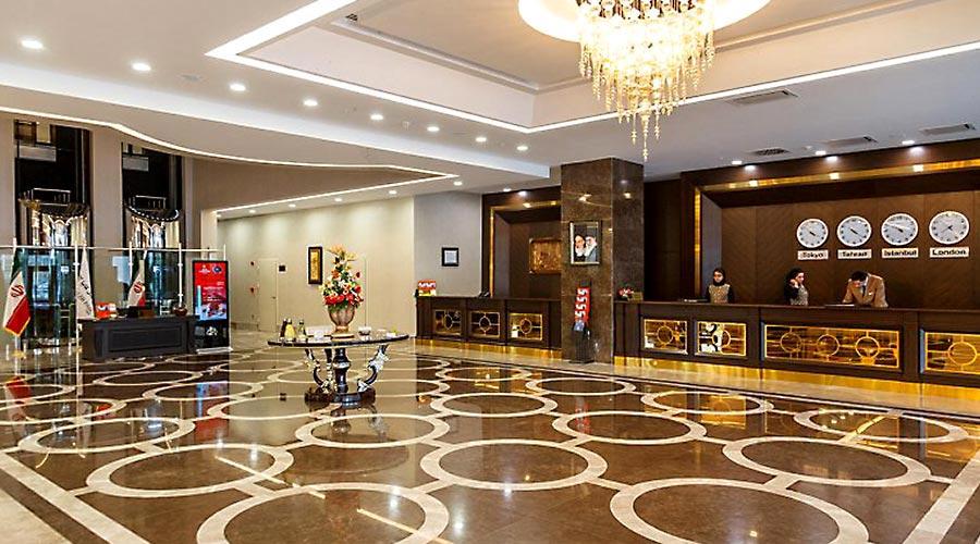 پذیرش هتل کایا پارک لاله تبریز