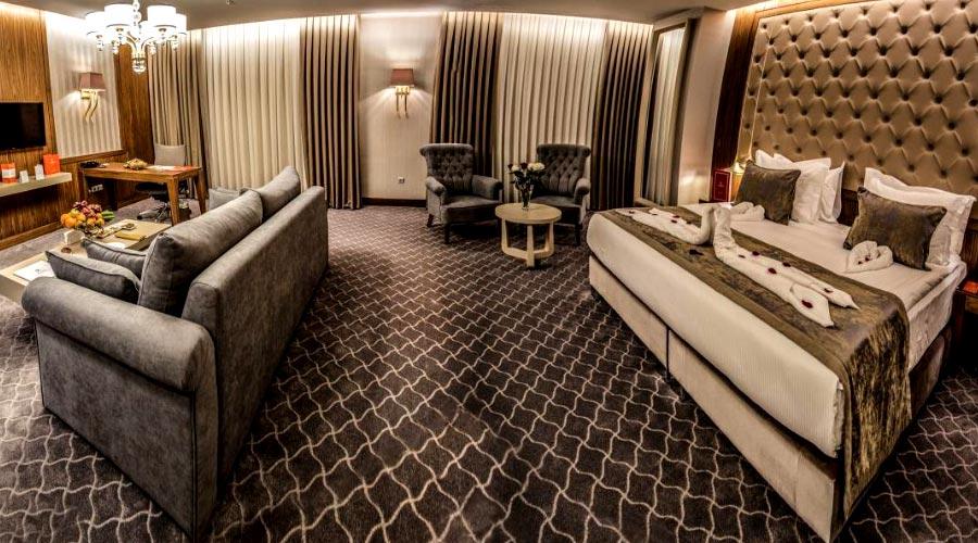 اتاق 4 هتل کایا پارک لاله تبریز