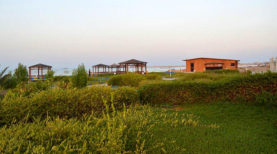 محوطه ساحلی هتل خلیج فارس قشم