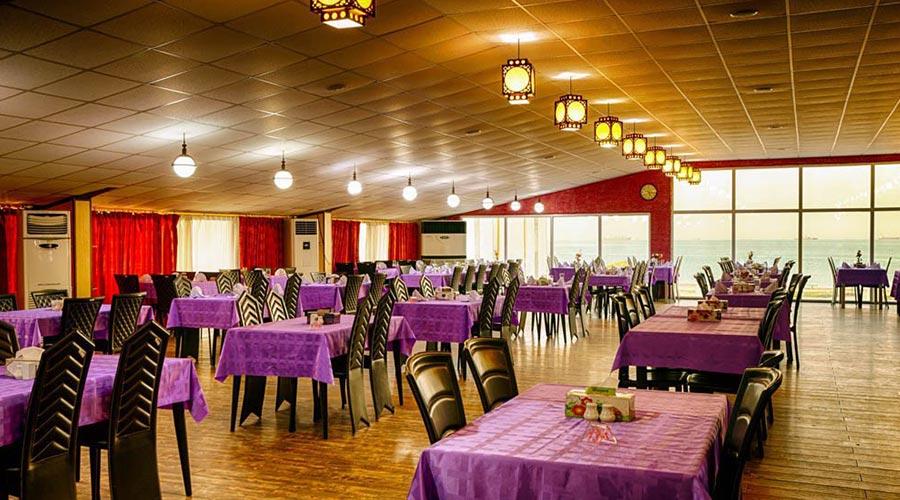 رستوران 3 هتل خلیج فارس قشم