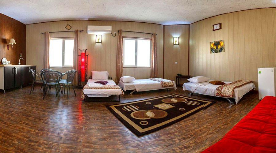 اتاق 2 هتل خلیج فارس قشم