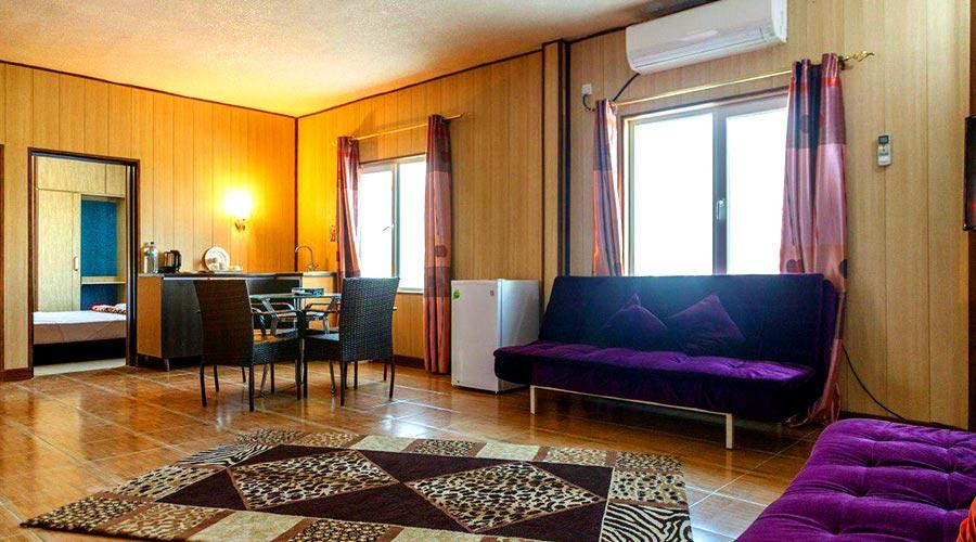 اتاق 3 هتل خلیج فارس قشم