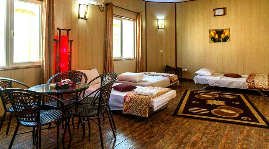 اتاق 4 هتل خلیج فارس قشم