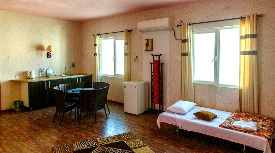 اتاق 5 هتل خلیج فارس قشم