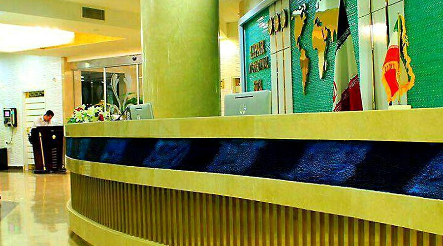 پذیرش هتل لیپار چابهار