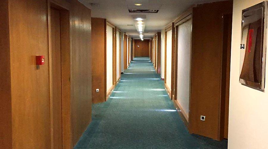 راهرو هتل لیپار چابهار