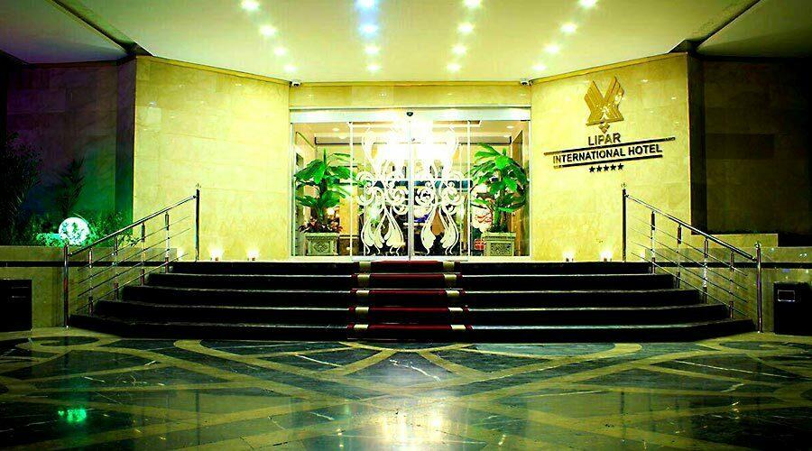 ورودی هتل لیپار چابهار