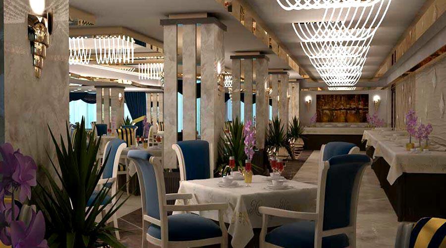 رستوران 1 هتل لیپار چابهار