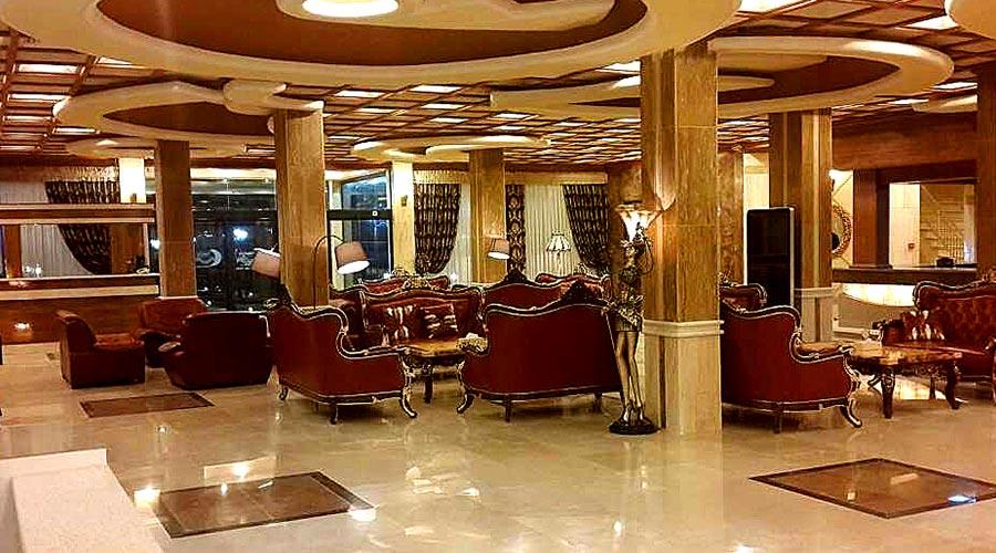 لابی هتل پارمیدا کیش