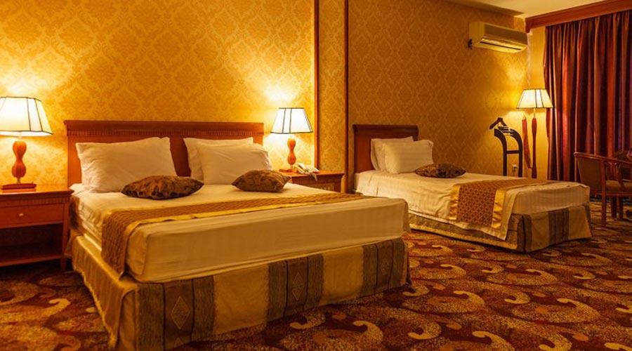 اتاق 3 هتل پارمیس کیش