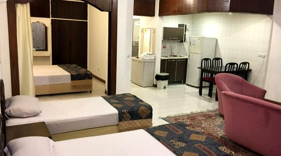 اتاق 3 هتل پارسیان کیش
