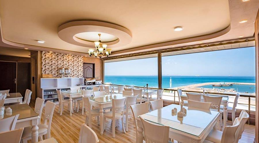 رستوران 2 هتل پرشیا قشم